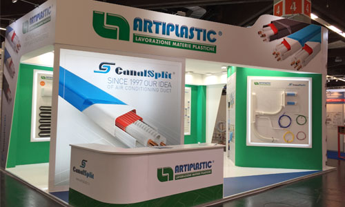 Artiplastic stand at Chillventa